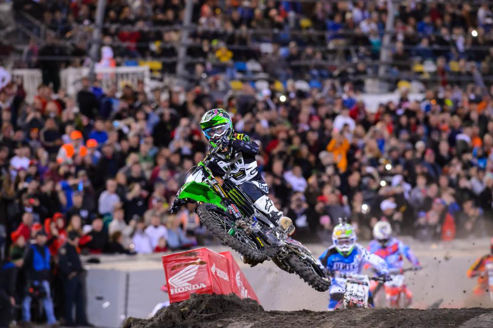 Baggett won his first race of 2014 in Daytona. Photo: Simon Cudby