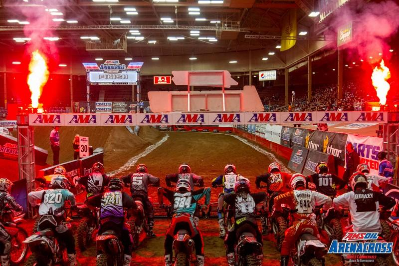 The Race to the Championship is now on.Photo: Josh Rud / Arenacross.com