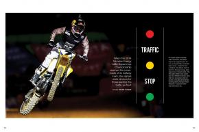 Halfway through the 2014 Monster Energy AMA Supercross Series, we look at who's in the driver's seat, who's riding shotgun, and who's still sitting in the driveway. Page 96.