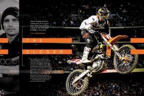 Rockstar Energy Racing KTM rider Jason Anderson's career didn't get off to the best start. Lately, though, all we can talk about are his finishes. Page 140.