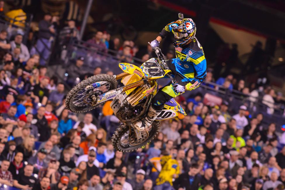 Weston Peick missed Daytona following a big crash during the week.