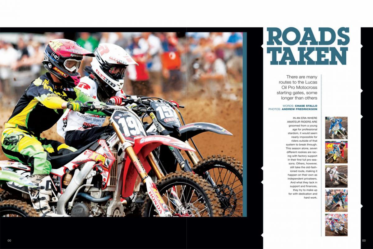 Baumert was featured in the October 2013 issue of Racer X Illustrated. Photo: Andrew Fredrickson