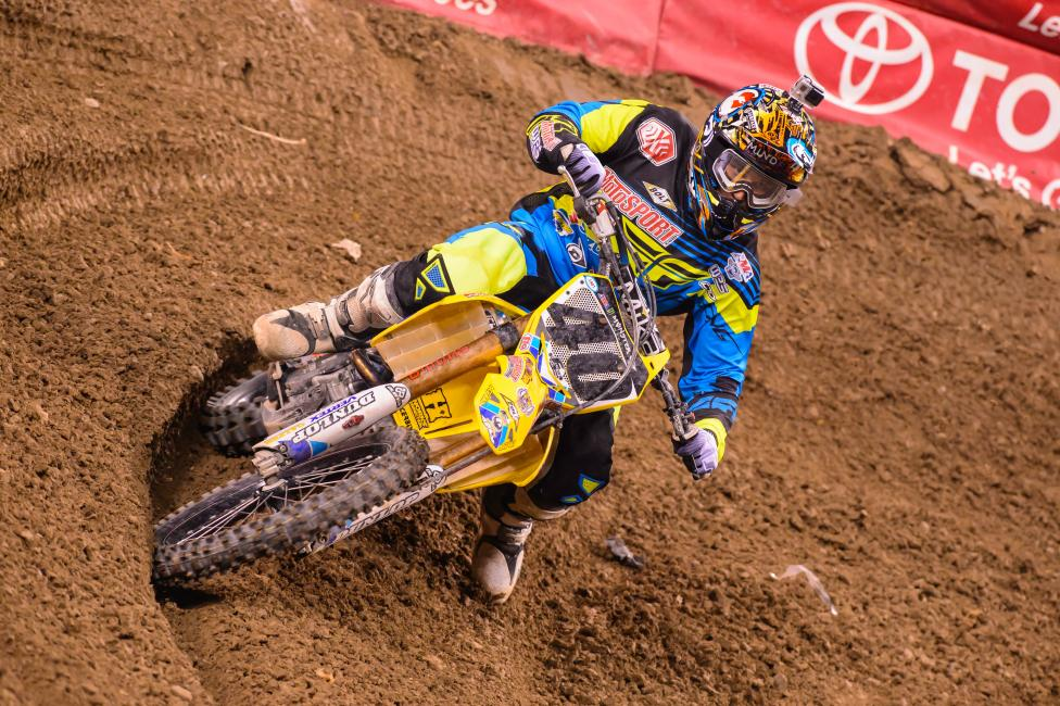 Weston Peick hopes to race this weekend. Photo: Simon Cudby