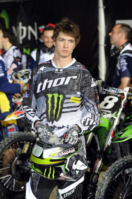 Covington was one of many to struggle with fuel problems in Thailand. Photo: Monster Energy