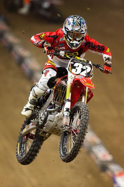 A second in 250s was a career high for Justin Bogle.