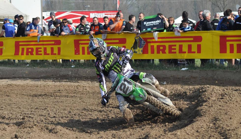 Gautier Paulin won in Italy this weekend.