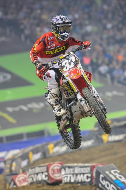 Justin Bogle has three podium finishes in five races.