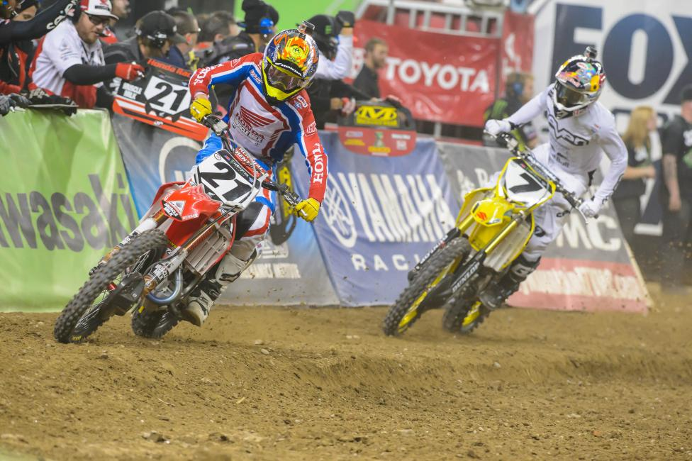 Seely has shined in his time in 450SX.