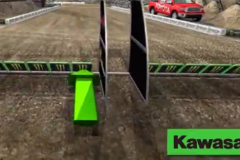 Animated Track Map: Toronto SX