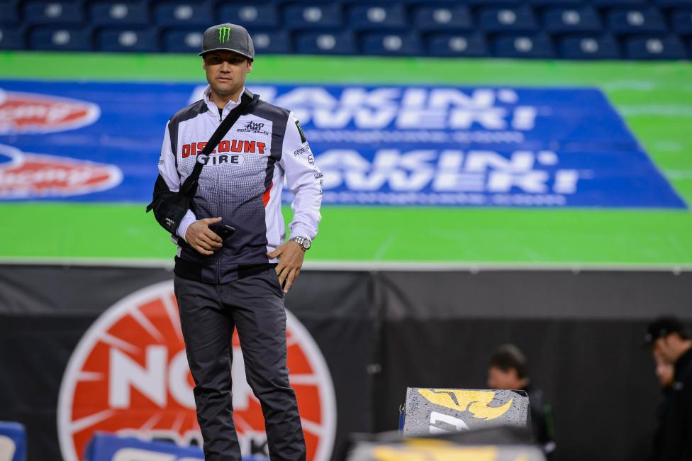 Chad Reed is on schedule to return for the Lucas Oil Pro Motocross Championships.