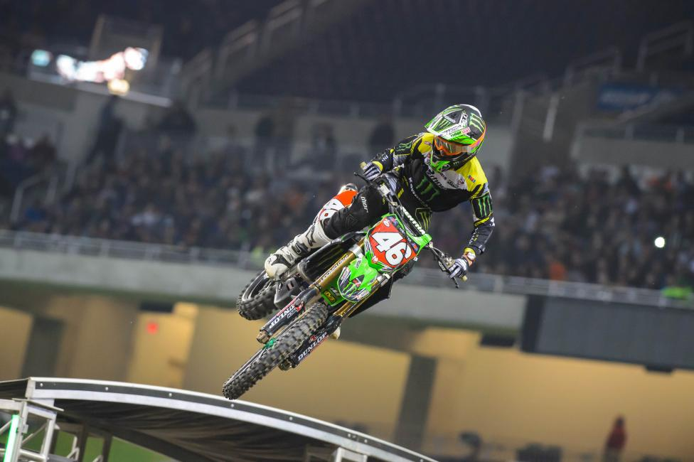 Cianciarulo extended his points lead with a win on Saturday.