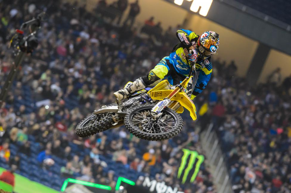 Weston Peick had a strong finish Saturday.