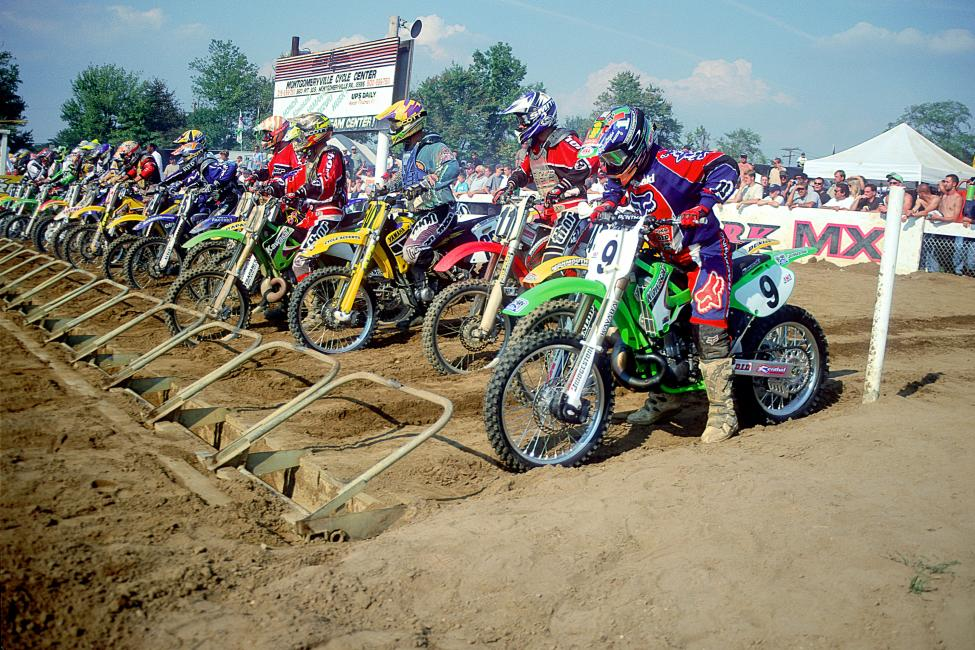 RC (9), Stewart and more all lined up at Raceway Park at one time or another. Photo: Racer X archives