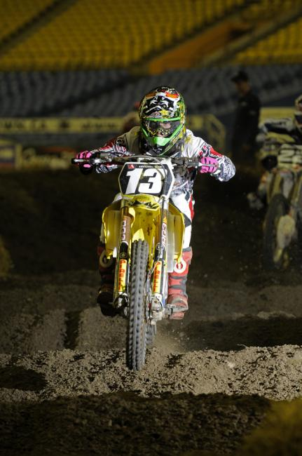 Tyler Medaglia has two MX2 championships on his resume.  Photo: James Lissimore