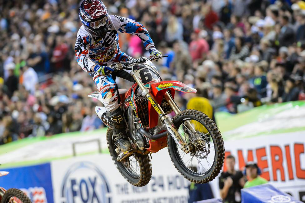 Can Chris Blose keep his main event streak going?Photo: Simon Cudby