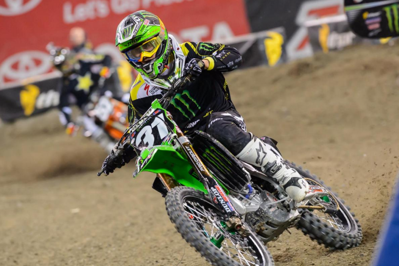 After inheriting second from AC, Davalos never was able to challenge Bogle, and had to survive a late crash to hold on for second. Davalos holds the points lead for the first time all season.