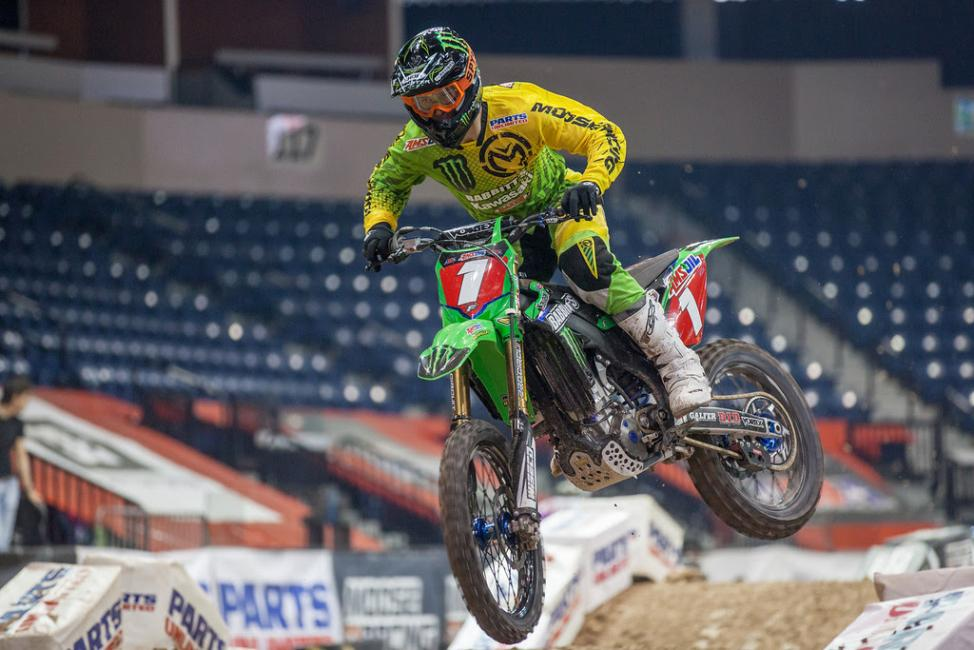Tyler Bowers can capture the championship at the final round next weekend. Photo: Monster Energy