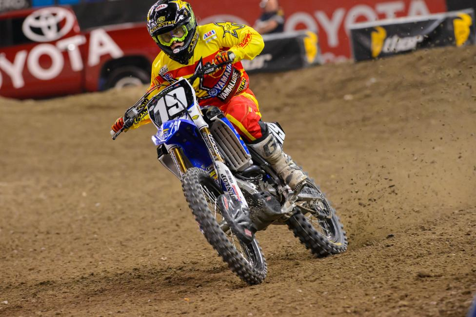 Jeremy Martin also had his best finish of the season in Toronto.
