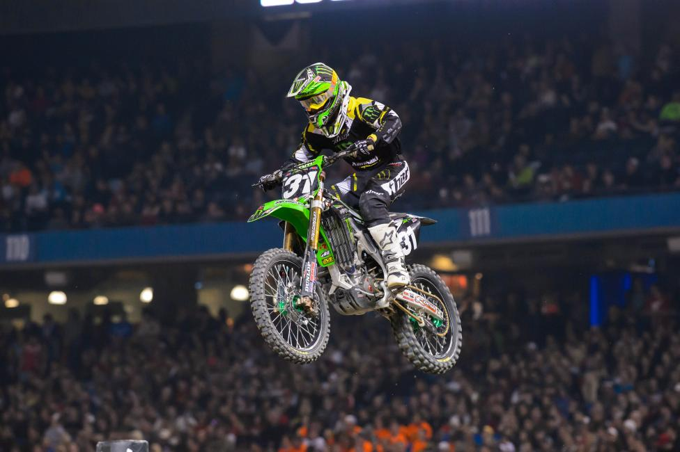 The new points leader in the East Region is Martin Davalos.