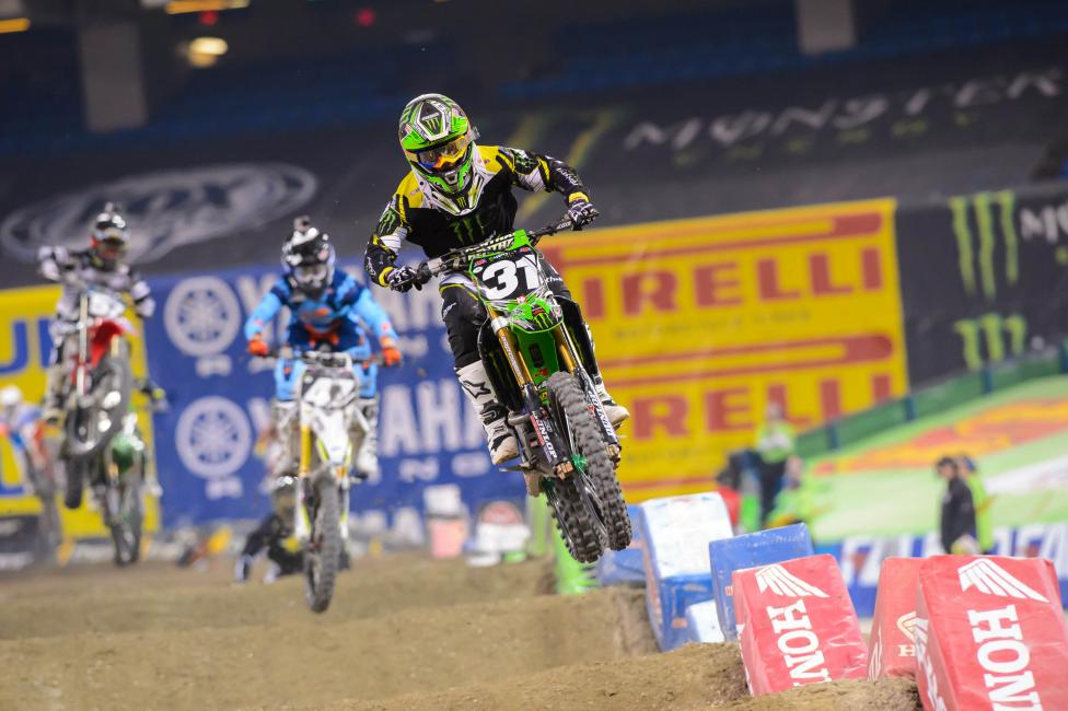 Martin Davalos takes the East Region points lead to St. Louis for the first time all season. Photo: Simon Cudby