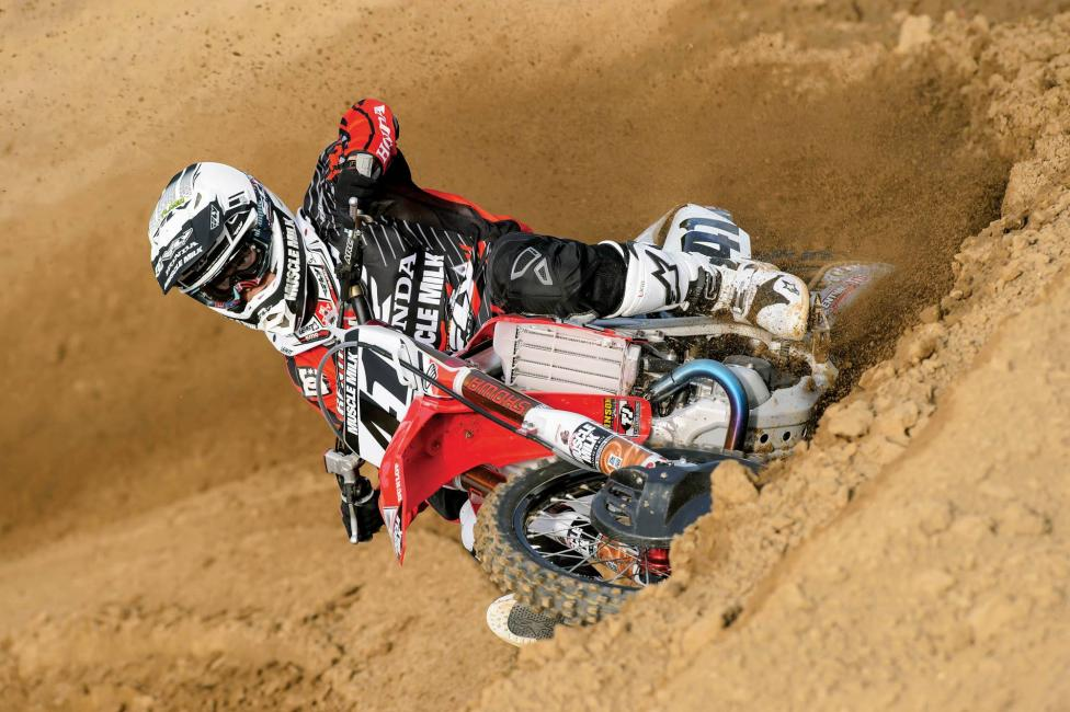 Trey Canard will make his 2014 debut at St. Louis. Photo: Simon Cudby