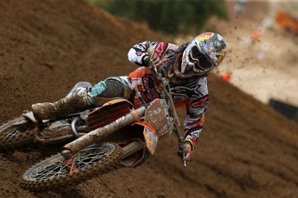 Jeffrey Herlings will miss the Grand Prix in Brazil this weekend.  Photo: Ray Archer