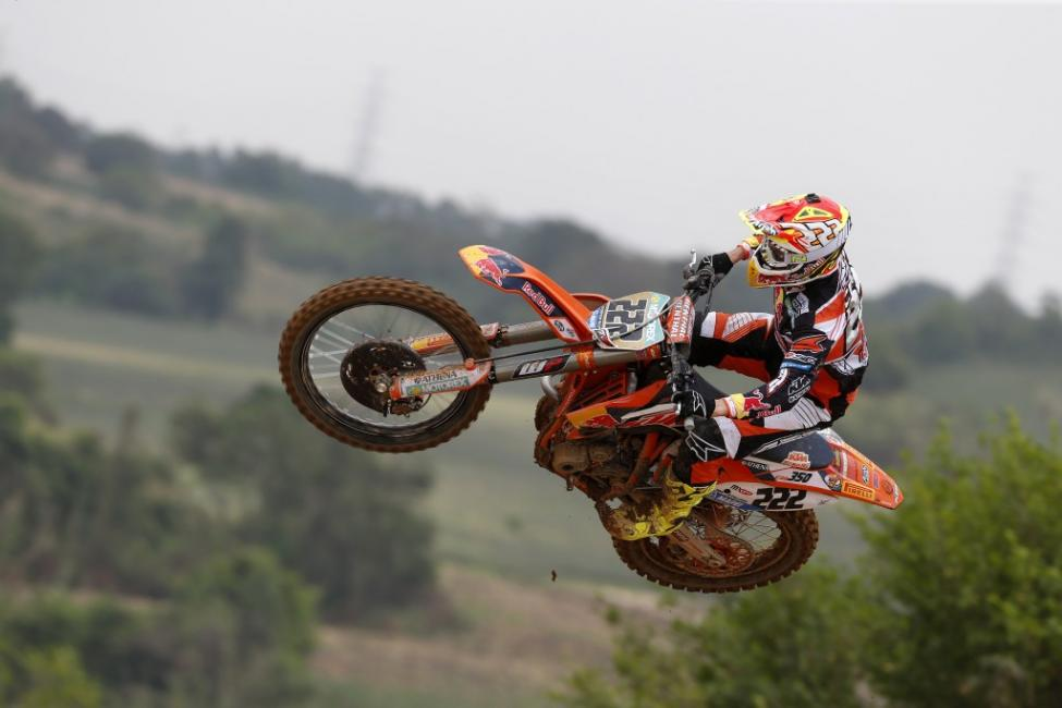 Cairoli looks to extend his points lead this weekend.