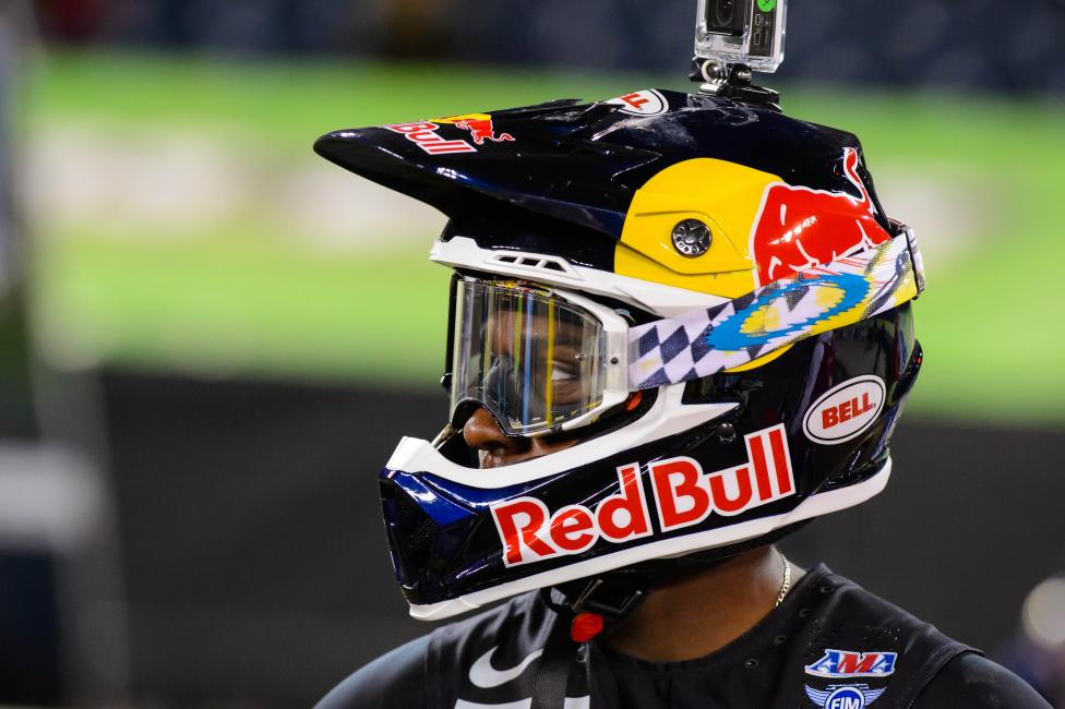 Stewart moved into second all-time in SX wins last Saturday.