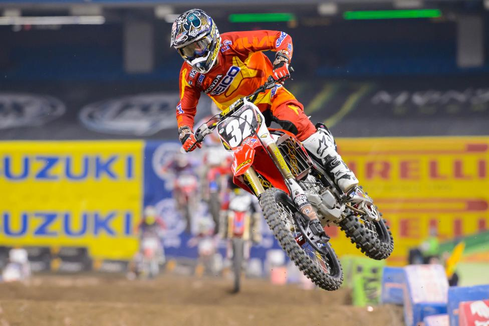 Justin Bogle is five points back of Martin Davalos heading into St. Louis. Photo: Simon Cudby
