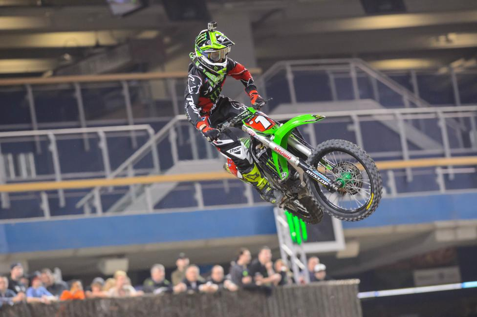 Villopoto should be fine for this weekend. Photo: Simon Cudby