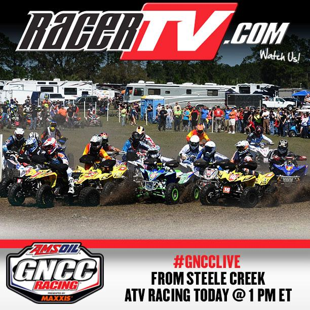 Tune to RacerTV.com today at 1 p.m. ET.