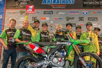 Bowers Wins Fourth Consecutive Arenacross Title