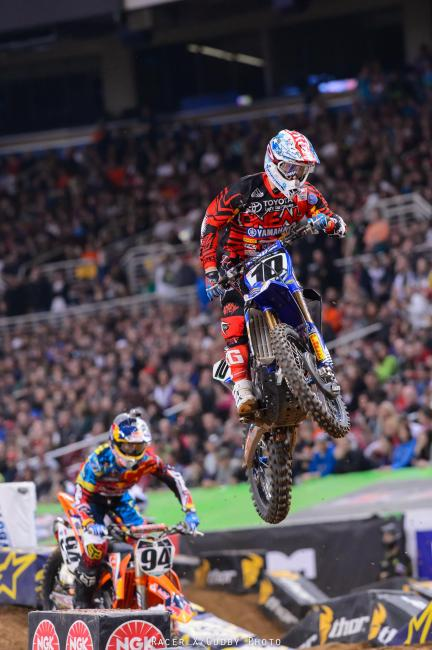Justin Brayton's night was full of highs and lows, and he's now leaving St. Louis with a broken foot.Photo: Cudby