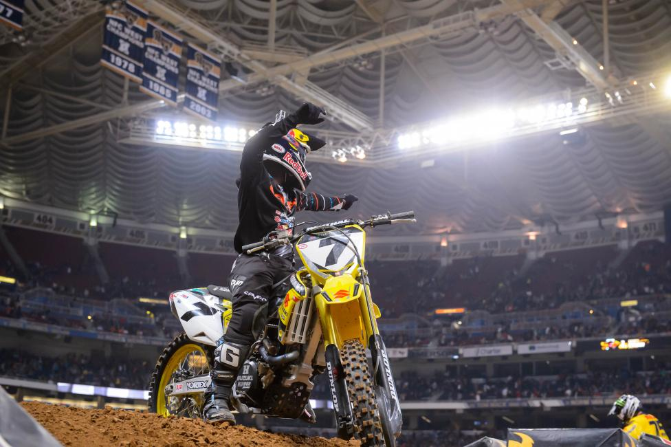 James Stewart won his third straight in St. Louis.Photo: Simon Cudby