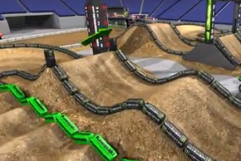 Animated Track Map: Houston SX