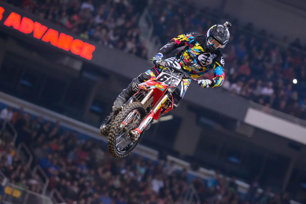 """Weege is forcing us to write """"Blose's engine blosed up in Toronto"""" here. In St. Louis Chris was back and put in his best result of the year.Photo: Simon Cudby"""