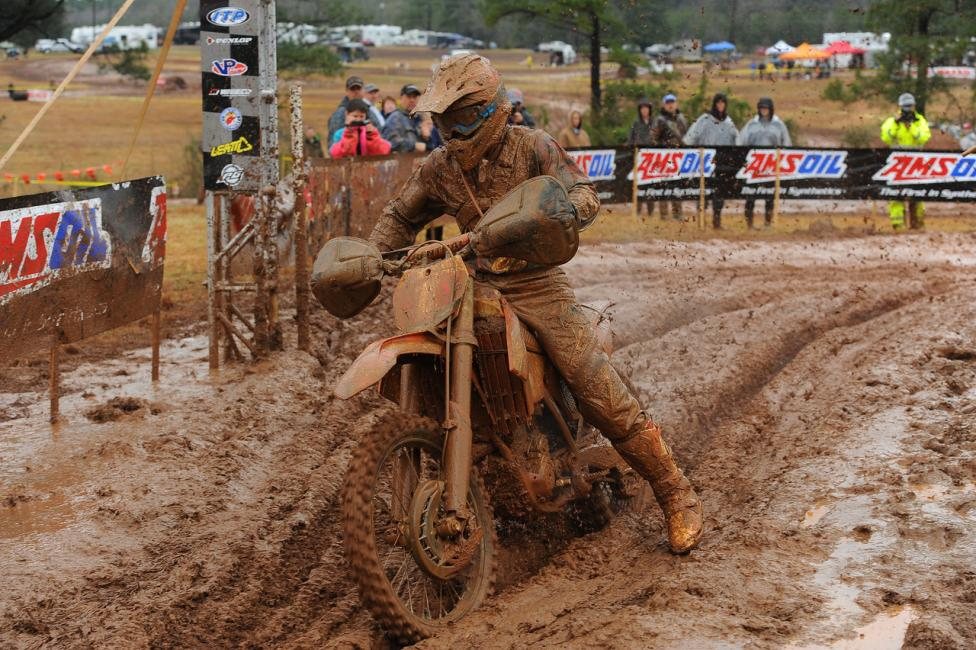 After three mud races to start the year, everyone in GNCC is hoping for dry conditions next weekend in South Carolina.Photo: Ken Hill