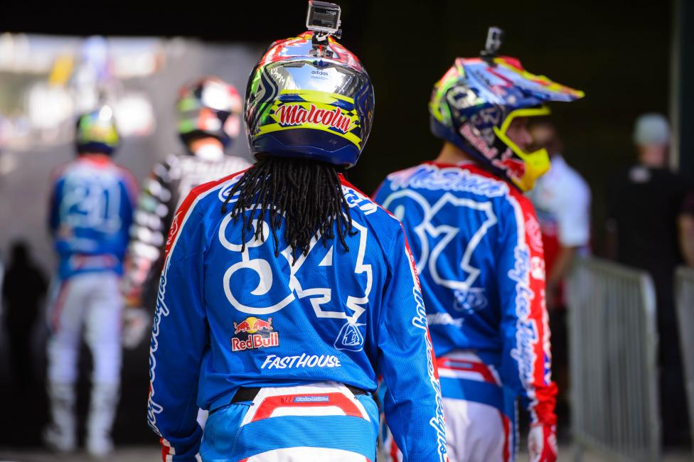 Can Malcolm return to the podium in Houston? Photo: Simon Cudby