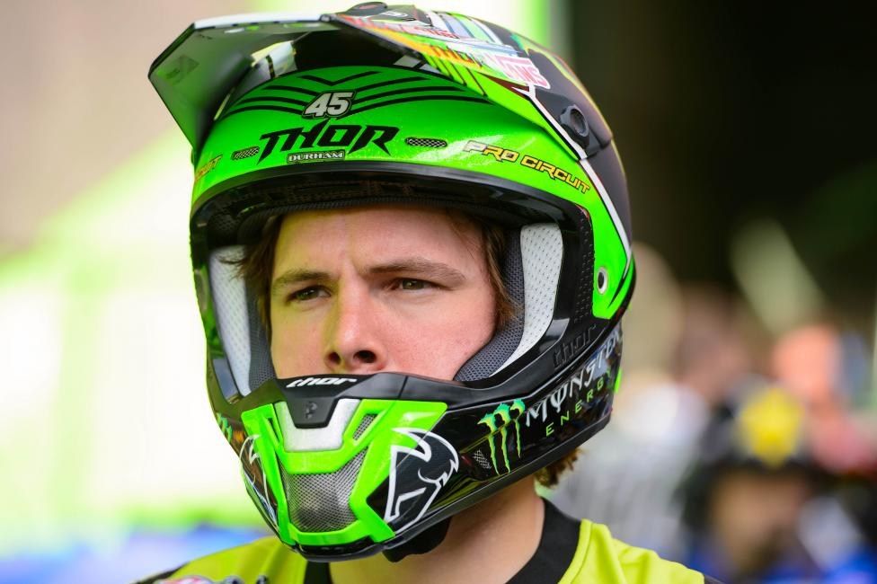 Darryn Durham will return for the Lucas Oil Pro Motocross Championships. Photo: Simon Cudby