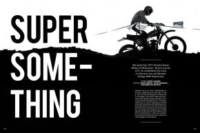 The two-round 1974 Yamaha Super Series of Motocross laid the foundation for what we now know as the Monster Energy AMA Supercross Championship. Page 110.