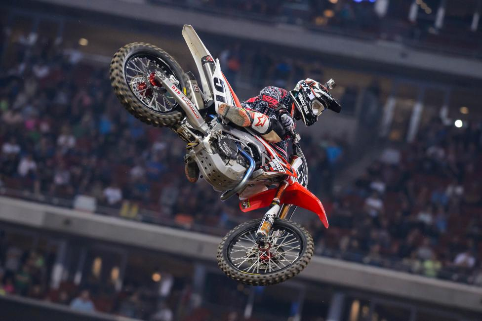 Justin Barcia captured his third straight podium in Houston.  Photo: Simon Cudby