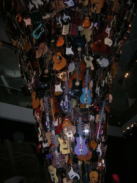 "(Inside the EMP Museum) ""Knowledge speaks, but wisdom listens."" - Jimi HendrixPhoto: Andy Bowyer"
