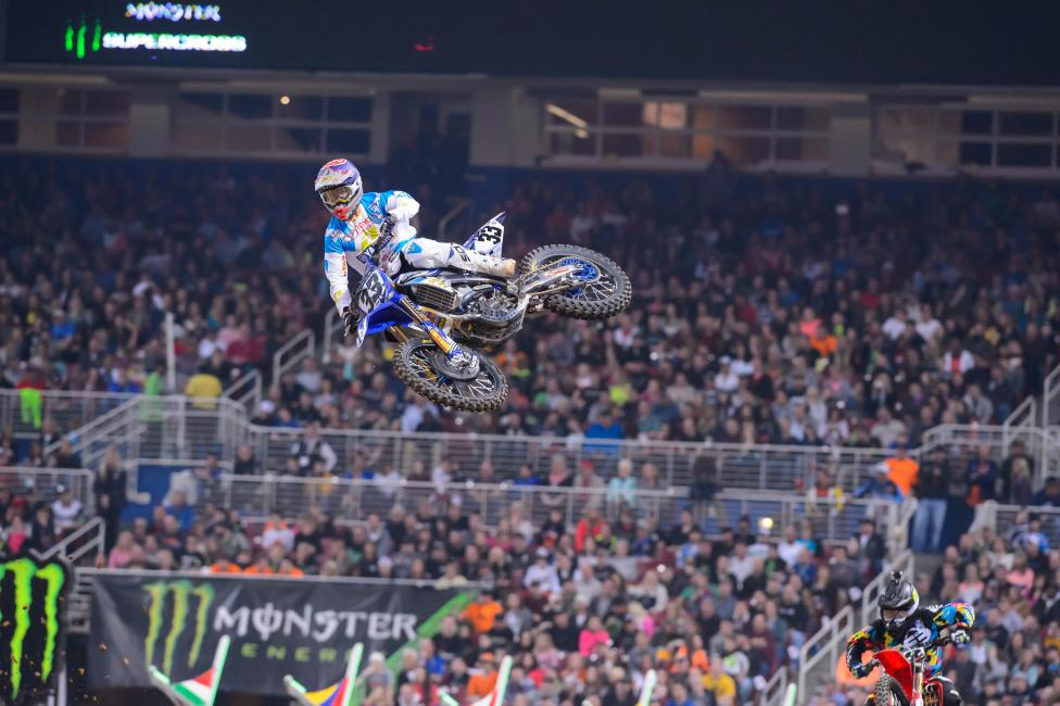 Brayton's JGR/Toyota Yamaha teammate, Josh Grant, is also out for Seattle.  Photo: Simon Cudby