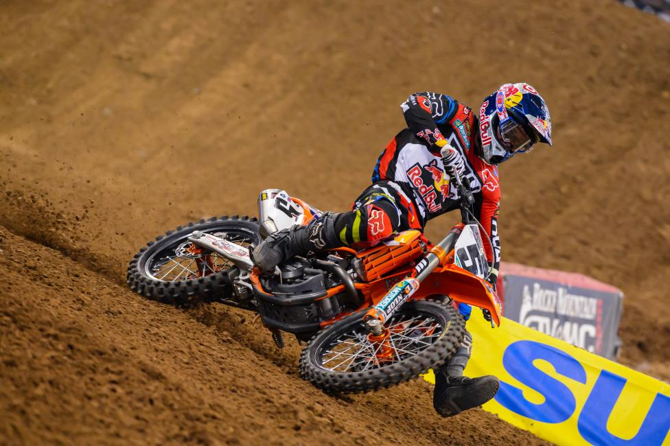 Will Dungey take second in points back from Stewart? Photo: Simon Cudby