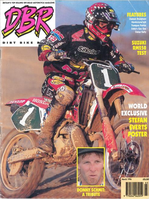 Dirt Bike Rider / March 1996 / UK