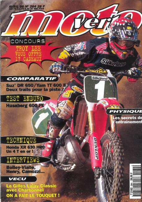 Moto Verte / April 1996 / France