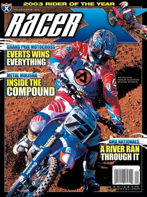 Racer X /December 2003 / USA