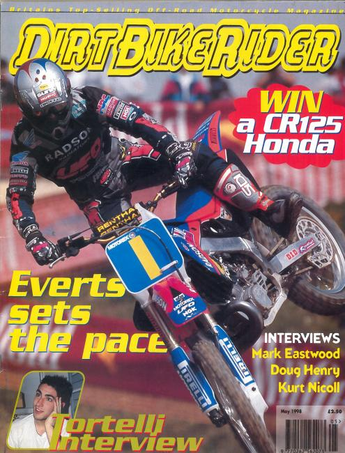 Dirk Bike Rider / May 1998 / UK