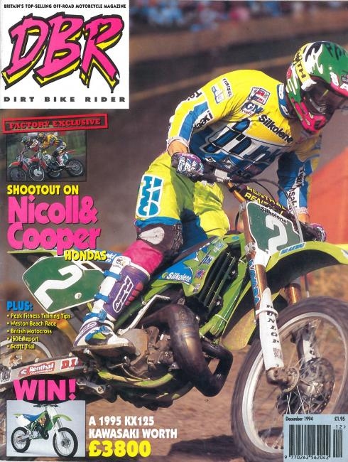 Dirt Bike Rider / December 1994 / UK