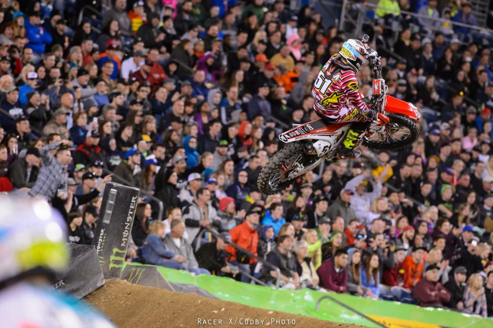 Barcia's recent run of podiums has ended, but his fifth was still okay.